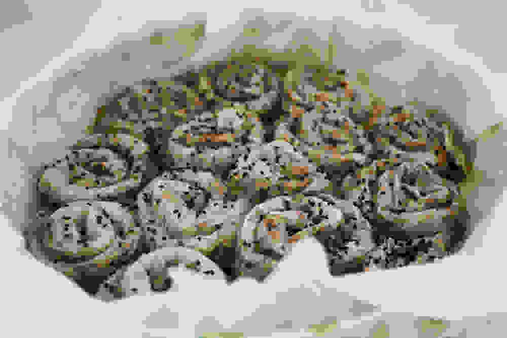 burrekas snails after baking