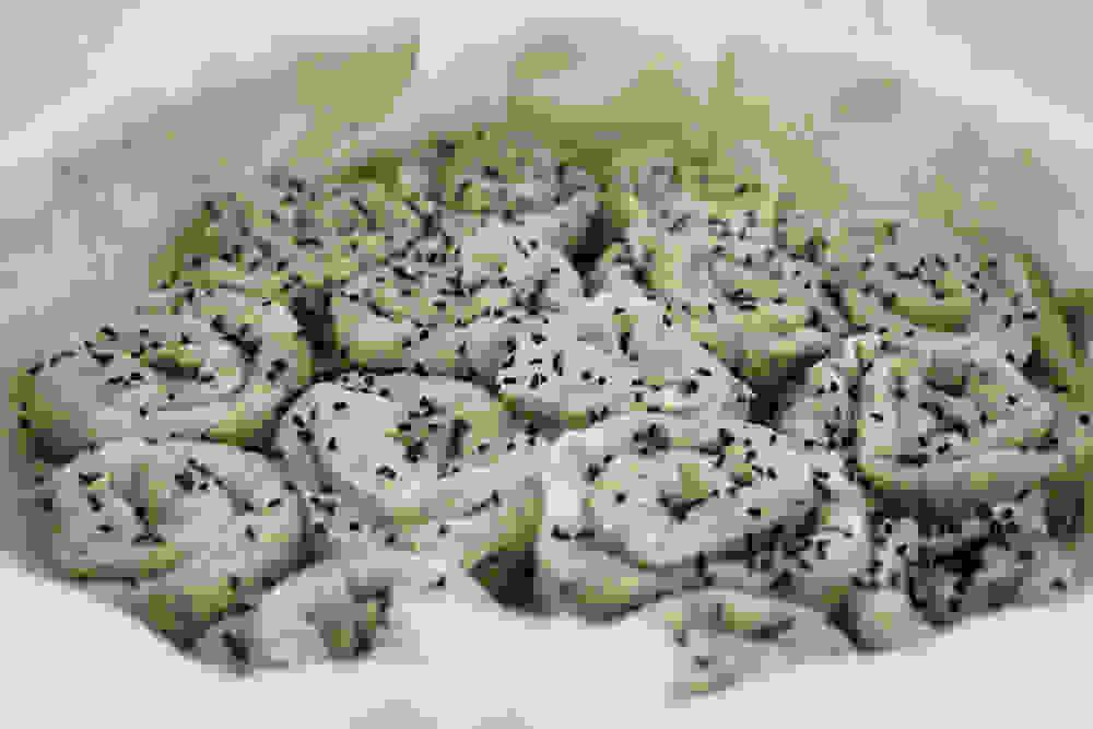 burrekas snails before baking