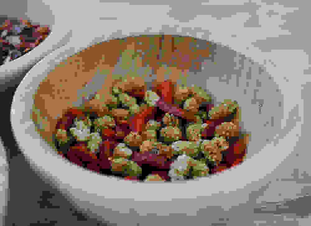 goji berries and mulberries in a bowl