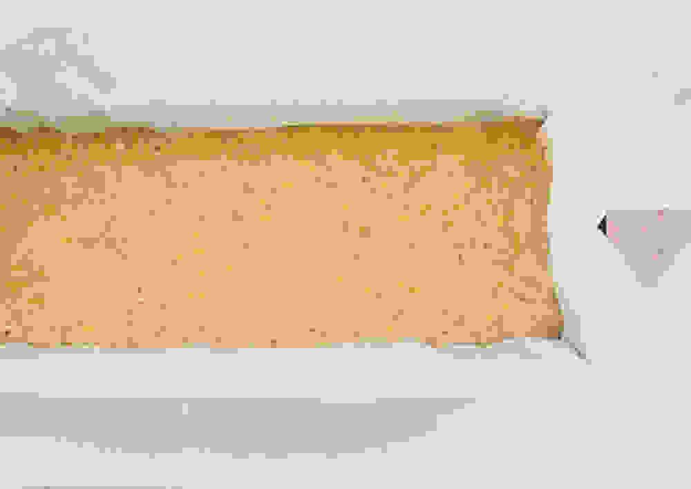 vegan orange cake batter