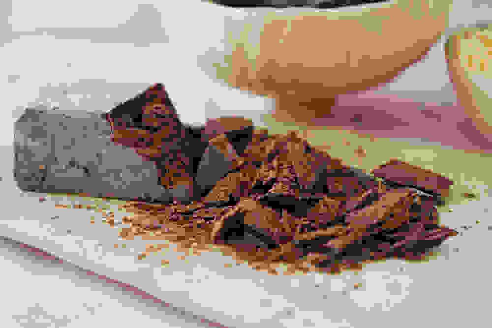 raw cacao paste block