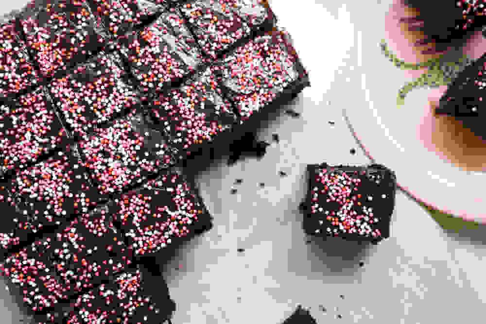 עוגת שוקולד של חגיגות סוף שנה וימי הולדת