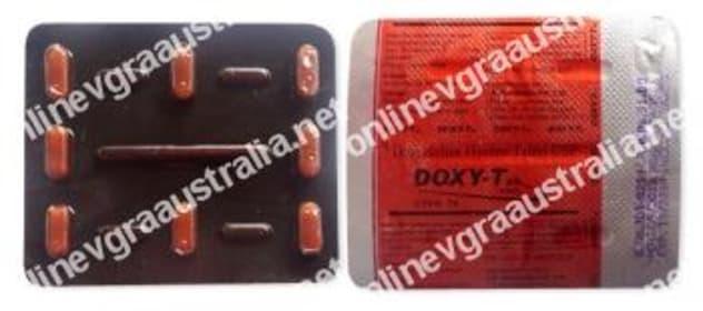 Doxycycline blister
