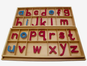 The Large MoveableAlphabet