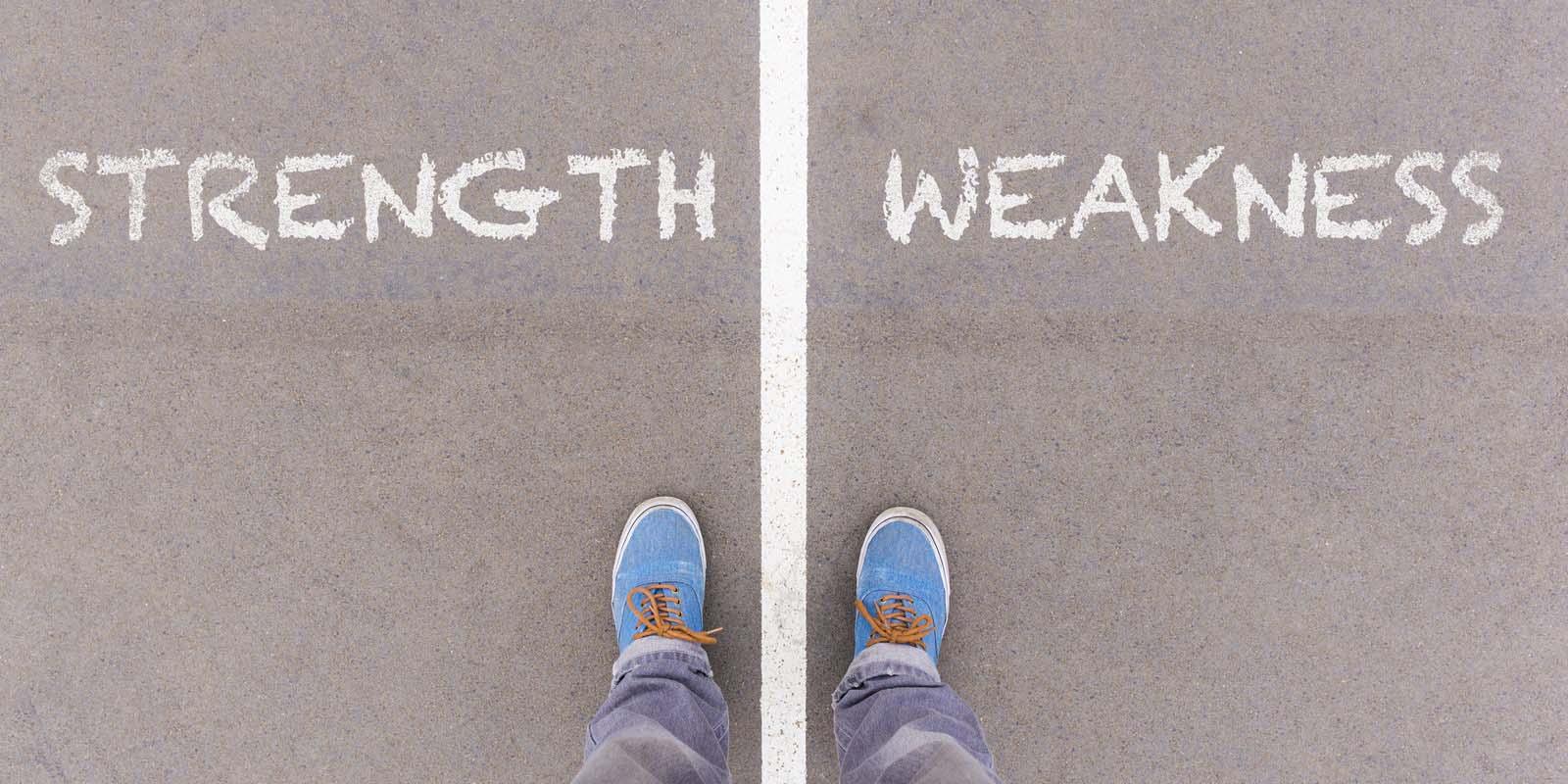 Hogyan tálaljuk a gyengeségeinket?