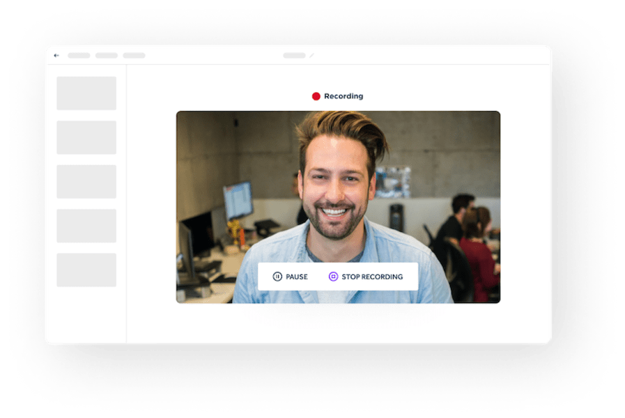 Capture | Vibbio - Best Video Maker For Businesses