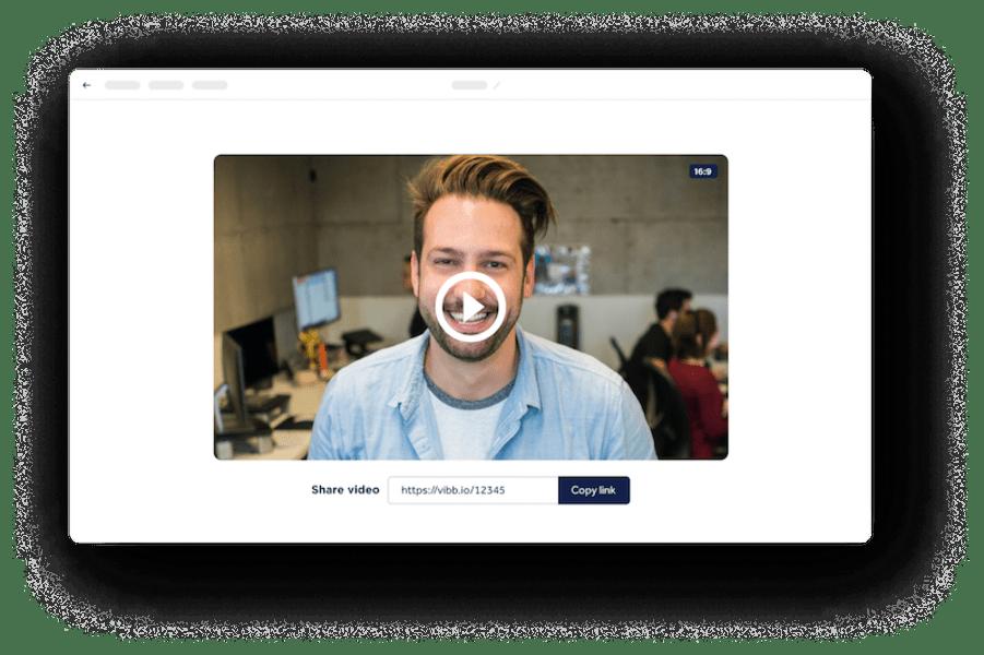 Share | Vibbio - Best Video Maker For Businesses