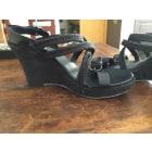 Sandales compensées DIESEL Noir