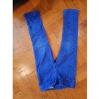 Jean slim  RALPH LAUREN Bleu, bleu marine, bleu turquoise