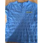 Tee-shirt SERGENT MAJOR bleu et jaune