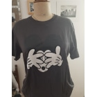 Tee-shirt UNIQLO Gris, anthracite