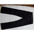 Jeans droit QUIKSILVER Noir