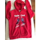 Sweat TIMBERLAND Rouge, bordeaux