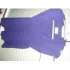 Pull tunique BERSHKA Violet, mauve, lavande