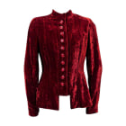 Jacket DIOR Red, burgundy