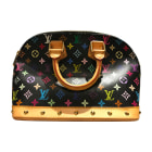 Sac à main en cuir LOUIS VUITTON Alma Multicouleur