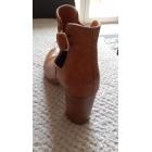 Bottines & low boots à talons TEXTO Beige, camel