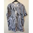 Tee-shirt ELEVEN PARIS Gris, anthracite
