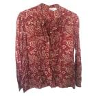 Blouse ISABEL MARANT ETOILE Red, burgundy