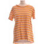 Top, T-shirt ZARA Yellow
