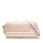 Leather Shoulder Bag DIOR White