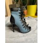 Bottines & low boots à talons STEVE MADDEN Bleu, bleu marine, bleu turquoise