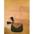 Leather Shoulder Bag ZARA Black