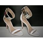 Sandales à talons ZARA Blanc, blanc cassé, écru