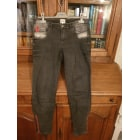Jeans slim BEL AIR Gris, anthracite