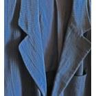 Veste CERRUTI 1881 bleu marine discrètes rayures noires