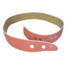 Wide Belt YVES SAINT LAURENT Pink, fuchsia, light pink