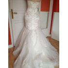 Robe de mariée LA SPOSA Blanc, blanc cassé, écru