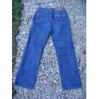 Jeans droit TRUSSARDI JEANS Bleu, bleu marine, bleu turquoise