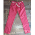 Pantalon carotte DESIGUAL Rose, fuschia, vieux rose