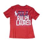 T-shirt RALPH LAUREN Red, burgundy