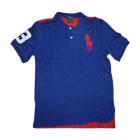 Polo RALPH LAUREN bleu et rouge