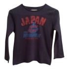 Tee-shirt JAPAN RAGS Bleu, bleu marine, bleu turquoise