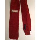 Cravate OLD ENGLAND Rouge, bordeaux