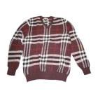 Pull BURBERRY Marron