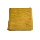 Wallet LOUIS VUITTON Yellow