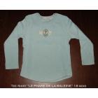 Top, tee shirt LE PHARE DE LA BALEINE Bleu, bleu marine, bleu turquoise