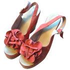 Sandales compensées MINELLI Orange