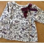 Top, tee shirt LILI GAUFRETTE Violet, mauve, lavande