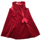 Dress BABY DIOR Red, burgundy