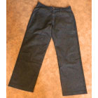 Jeans droit REDSKINS Gris, anthracite