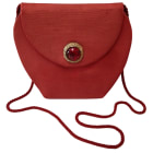 Borsa a tracolla in tessuto YVES SAINT LAURENT Rosso, bordeaux