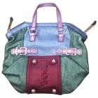 Leather Handbag YVES SAINT LAURENT Multicolor