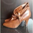 Bottines & low boots à talons MIM Beige, camel