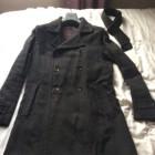Waterproof, Trench KENZO Gray, charcoal