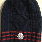 Beanie MONCLER Blue, navy, turquoise